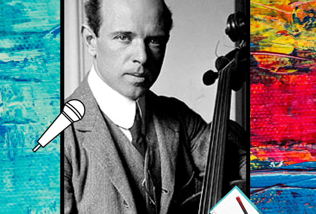 Exclusiva con Pau Casals Delfilló, gran violonchelista, director de orquesta y compositor